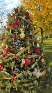 Tree decorated 1